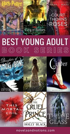 YA books have become a huge genre in the last decade and we've loved immersing ourselves into the amazing worlds these authors have created. Read on to see what our all-time favorite YA book series are! And be fully prepared to add these to your TBR. Literary Fiction, Historical Fiction, Fiction Books, Ya Books, Good Books, Books To Read, Pretty Little Liars, Gossip Girl, Books For Teens