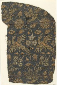 Textile with Brocade, Medieval Art Medium: Silk, Linen Rogers Fund, 1912 Metropolitan Museum of Art, New York, NY http://www.metmuseum.org/art/collection/search/463599
