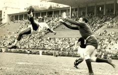 As a reserve: Leonidas, centre forward. He played mostly in Botafogo, Flamengo and São Paulo. Skills: Speed, agility. Career: 1929-1950. Nickname: Black Diamond. Signature move: bicycle kick.