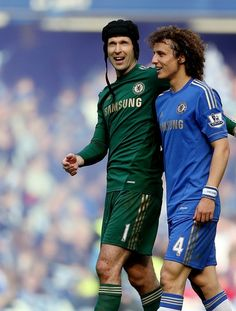 Cech and David Luiz