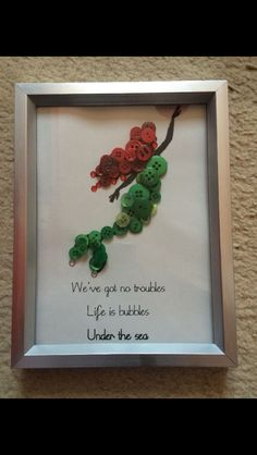 The little mermaid Ariel Disney button art picture