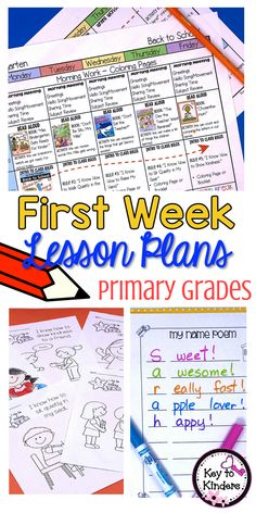 Teachers, begin the year with these fun, flexible lesson plans that will help your students (and you!) have a successful first week of school. Included are activities, procedures and read-alouds perfect for perfect for preschool, kindergarten, first grade and second grade. Check out how I keep this crazy week sane and smooth-going!
