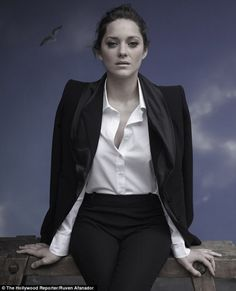 Marion Cotillard by Ruven Afanador for The Hollywood Reporter