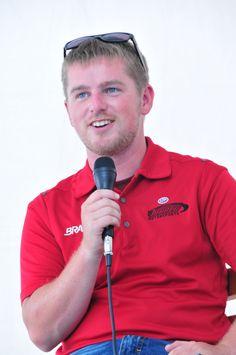 Justin Allgaier is originally from Riverton, Ill.