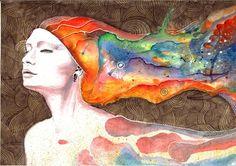 Leaving Tonight - watercolors, inprnt, illustration, print, poster, art