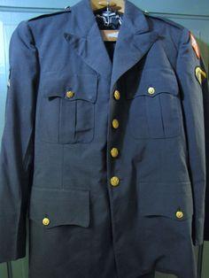 Vietnam Era US Army Spec 5 Rank Enlisted Class A Uniform Pants and Coat