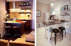 Resultado de imagem para cozinhas pequenas e modernas