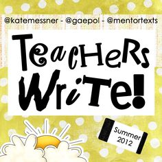 AWESOME virtual summer writing camp for teachers and librarians. Many talented authors provide mini lessons, quick writes, answers to questions, and feedback on writing. Writing Plan, Writing A Book, Writing Ideas, Information Literacy, Teaching Writing, Writing Lessons, Writing Process, Teaching Spanish, Teaching English