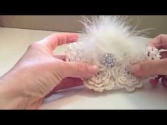How to make a vintage feather headband.  Supplies used in this video were purchased at:   http://www.boutiquesupplyco.com
