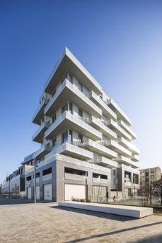 Immeubles de logements ZAC du Port   Atelier Zündel Cristea