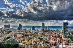 A city with Panoramic view   Community Post: 15 Unbelievably Beautiful Pictures Of Tel-Aviv - A City Of Contrasts
