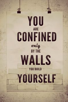 Tear down the walls through the use of hypnotherapy
