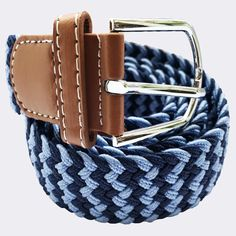 buy|striped|woven|elasticated|belt|blue|navy|shop|Bassin and Brown – Bassin And Brown Color Stripes, Navy Stripes, Navy Chevron, Navy Shop, Browns Gifts, Woven Belt, Belt Buckles, Belts, Accessories