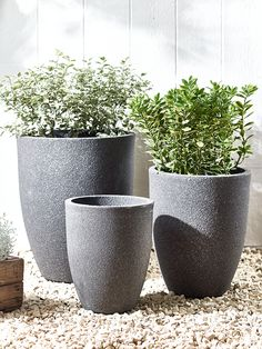 NEW Three Stone Effect Planters