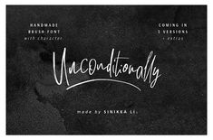 Unconditionally | Si