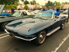 Chevrolet Corvette C2 Sting Ray Cabrio 1962