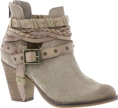 Naughty Monkey Women's Shoes in Taupe color. Visit our web site to compare prices on this pair or for TONS of easily pinnable content for your boards. #shoes #fashion #style #footwear