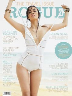 Fashion Media Philippines: Scorching hot Megan Young headlines Rogue Magazine Travel Issue (March 2012)