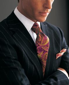 Love the tie....
