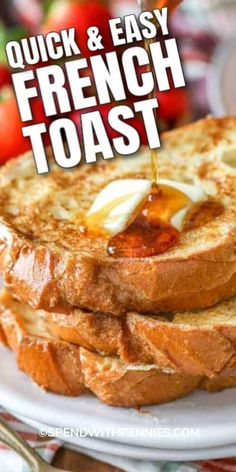 Breakfast Dishes, Breakfast Recipes, Breakfast Options, Awesome French Toast Recipe, French Toadt Recipe, Ihop French Toast Recipe, French Toast Batter, Brunch Recipes, Dinner Recipes
