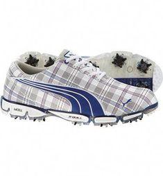 fe248b823eb Puma Men s Super Cell Fusion Ice Golf Shoes (Plaid Surf)  Golffashion Junior