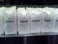 Chanel popcorn!  #divine #luxury #chanel