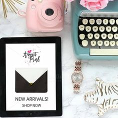 New Year, New Arrivals! Check out the PINK WINTER BLISS collection @MyAugustPink. Pretty items for office, travel, home, or great gift ideas. Visit #MyAugustPink and SHOP NOW! Spend $50 and receive FREE SHIPPING using code PINK50. #stationery #gifts #decor #journals #notebooks #travel #ecommerce #newarrivals #sale #onlineshopping #women #pink #accessories