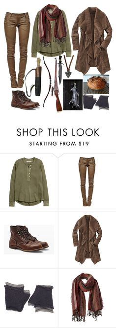 """""""Hunting For The Basterds (Inglourious Basterds OFC)"""" by sammywinchester05 ❤ liked on Polyvore featuring H&M, Balmain, Club Monaco, MAC Cosmetics, Wooden Ships, prAna and Don't AsK"""