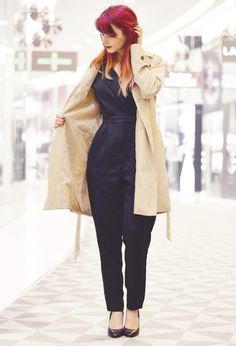 #blog #mode #femme #cute #trench