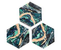 Sedimentation Coasters