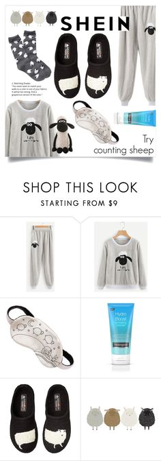 """Try counting sheep"" by trinitybinity ❤ liked on Polyvore featuring Morgan Lane, Haflinger and Free Press"
