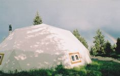 When I was a teen I used to go and stay with our friends in a dome in the woods. It was the coolest. Now I could have a dome of my own, if only I had the place to put it.