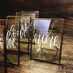 *These table number rentals are only available for pick up on Oahu, Hawaii. Renting our custom, handwritten table numbers will add the perfect touch to your special event. Youve gotta admit, its a pretty savvy alternative to purchasing a set of numbers you may never use again. ;)