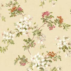 Fairwinds Studios Silana Dogwood Trail Wallpaper - CW20300 Luxury Wallpaper, Love Wallpaper, Wallpaper Stores