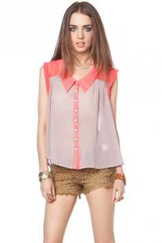 love this shirt! super cute in neon yellow too! $45