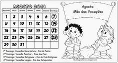 """""""SEMEADORES DA PALAVRA DE DEUS""""-Catequista Marisa-: ATIVIDADES: AGOSTO MÊS DAS VOCAÇÕES"""