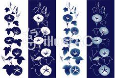 あさがお02 Flowers, Summer, Home Decor, Summer Time, Decoration Home, Room Decor, Royal Icing Flowers, Home Interior Design, Flower