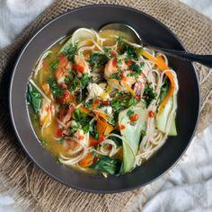 Vegetable & Shrimp Soup