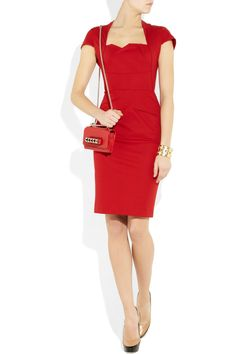 Yes. Red. Rawrr :) From Roland Mouret via net-a-porter.com