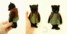 medal bronze bearly by Mina Lucinda on Etsy