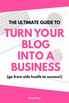 Are you serious about turning your blog into a business? Then click through for…