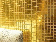 Mosaico foglia oro AUREO by Trend Group