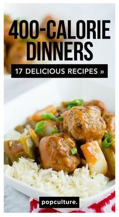 400 calorie dinners to help you meet your weight loss goals. Perfect healthy recipes for family dinner. #familydinner #healthyrecipe #recipes #healthyliving #dieting #weightwatcherspoints