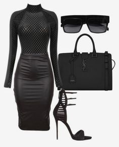 Best Classy Outfits Part 9 Black Women Fashion, Curvy Fashion, Look Fashion, Urban Fashion, Autumn Fashion, Womens Fashion, Ladies Fashion, Fashion Edgy, Petite Fashion
