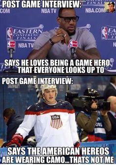 Yet another reason why hockey players are the best!