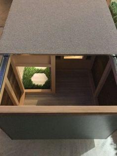 Modern Dog House by AnACustomPetHouses on Etsy