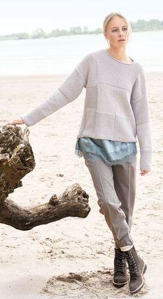 Lana Grossa PULLOVER Cool Wool Big - FILATI CLASSICI No. 13 - Modell 23 | FILATI.cc WebShop