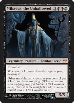 *Obtained* - Magic: the Gathering - Mikaeus, the Unhallowed (70) - Dark Ascension Magic: the Gathering http://www.amazon.com/dp/B006Y3R7U8/ref=cm_sw_r_pi_dp_B1IFub1BP1BHD