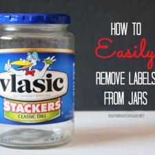 How To Easily Remove Labels
