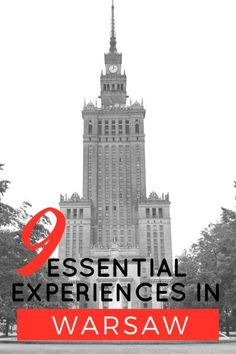 9 Essential Experiences in Warsaw